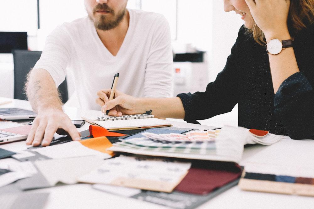 """"""" L'envie de créer notre entreprise est née, tout d'abord de notre volonté commune d'être notre propre patron. """""""