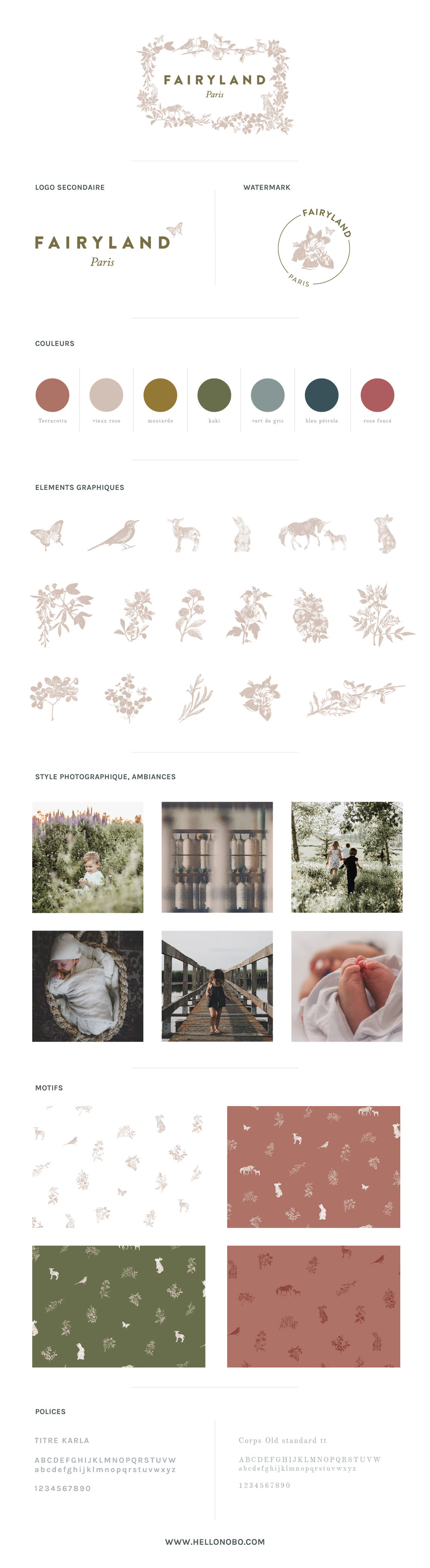 Brand Board Fairyland by Hello Nobo