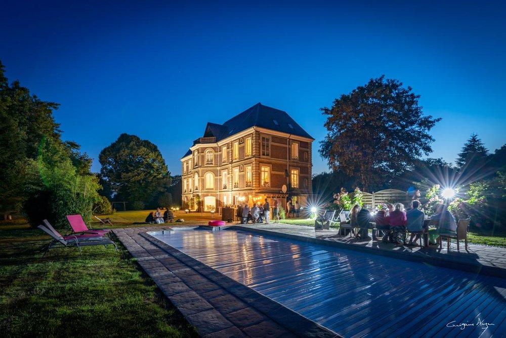 Le Petit Château de Conteville, lieu du week-end