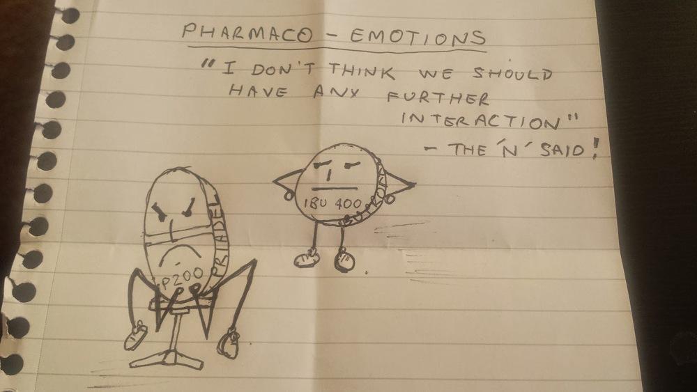 A cartoon by my talented boyfriend :)