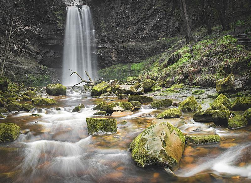 Henrhyd Waterfalls