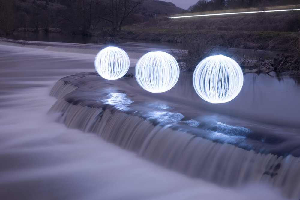 The art of light spheres