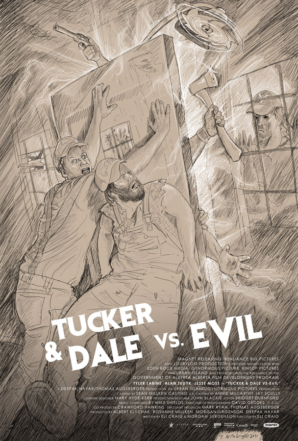 Tucker and Dale vs. Evil (unused concept) | Eli Craig | Digital Pencil
