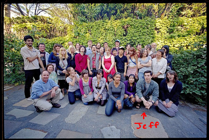 RISD 2008 FAV senior class photo. I'm still not enrolled, just sitting in.