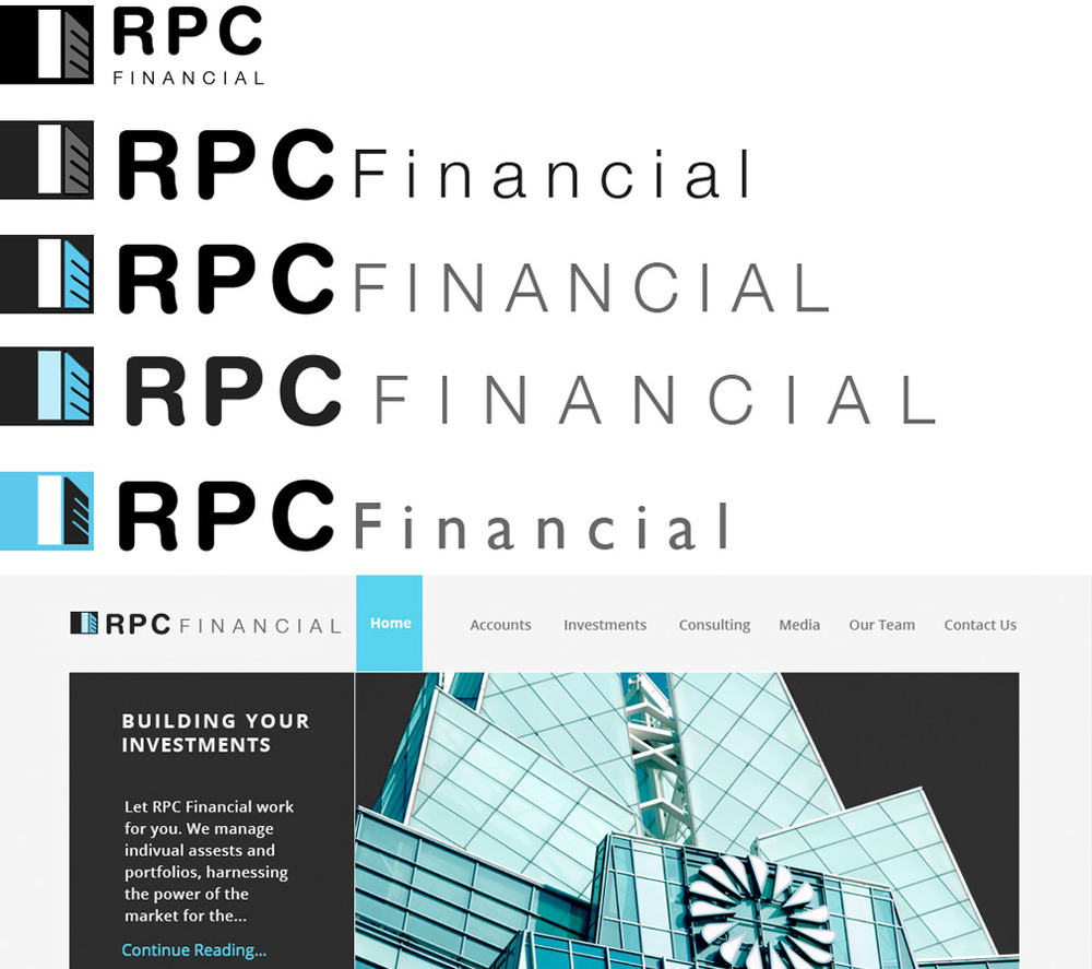 RPC Financial | Photoshop | Illustrator