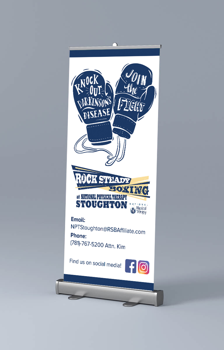 Rock Steady Boxing Promotional Banner