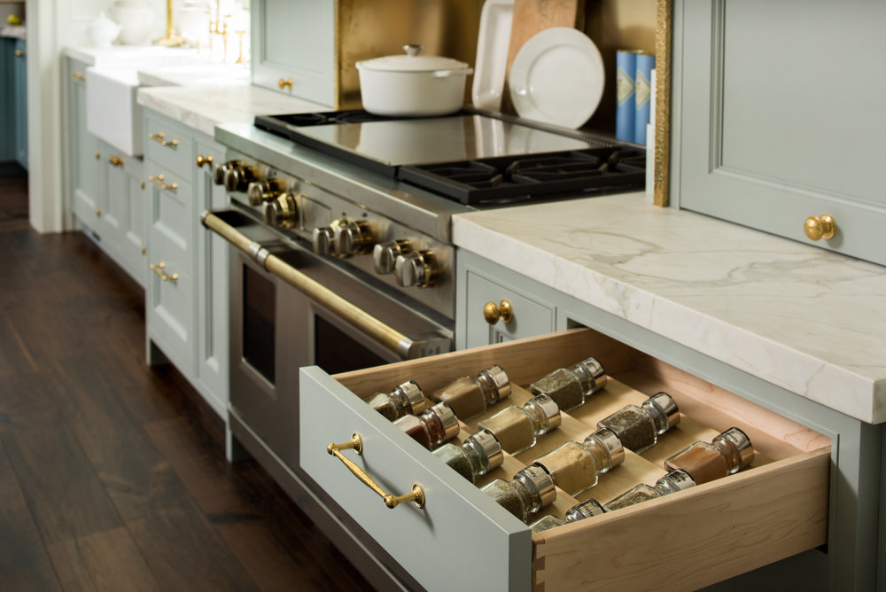 Kitchen Design by  Matthew Quinn  of  Design Galleria