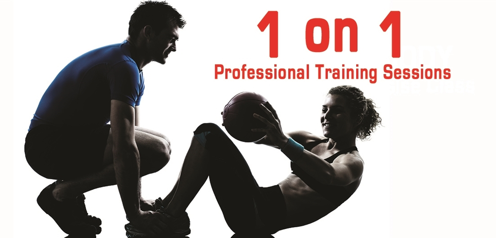 1 on 1 Professional Training Sessions