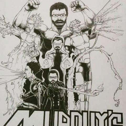 New MK shirt design? Thanks to Tom McAteer for this comic book rendering of murphy's Kids