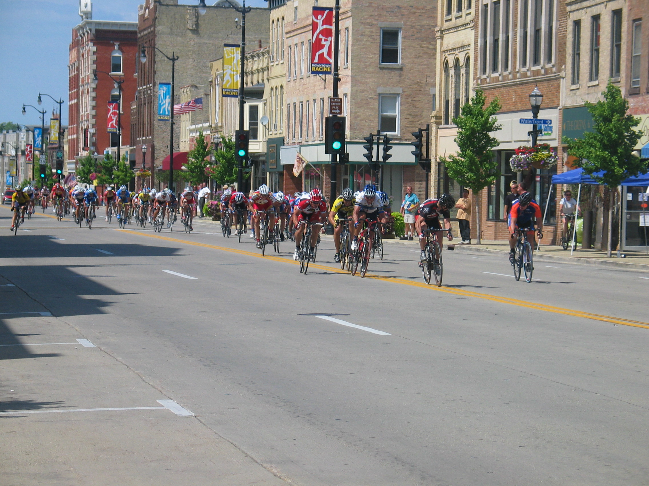 2008 Superweek Racine Master's Finish Sprint