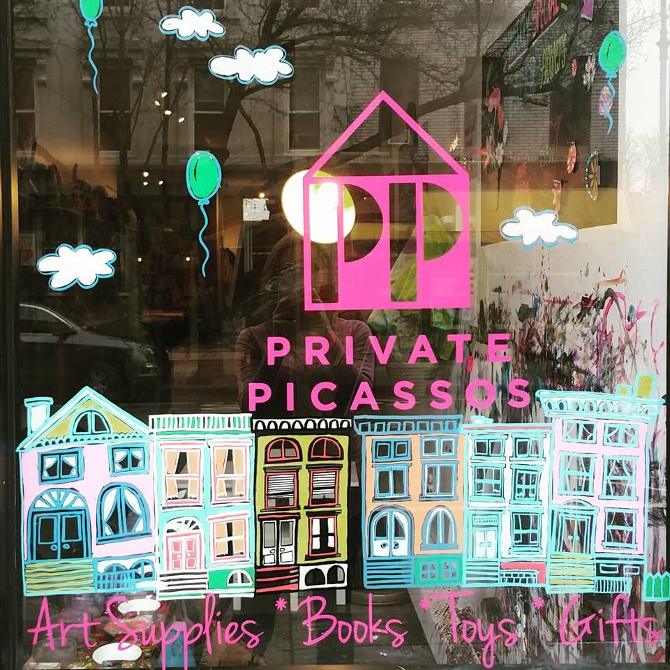 private picassos logo