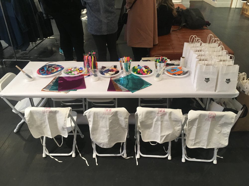 Our Party Packages Include An Hour Long Art Activity With All Materials Set Up And Clean Private Picassos Balloons Gift Bags To Transport Artwork