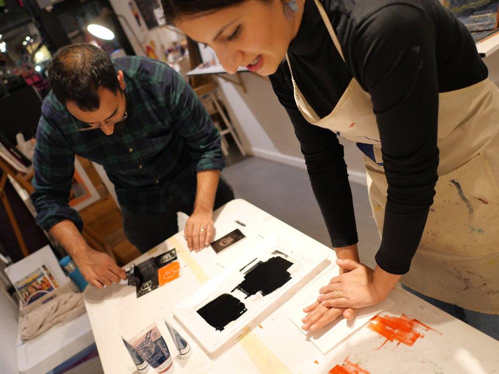 students printing