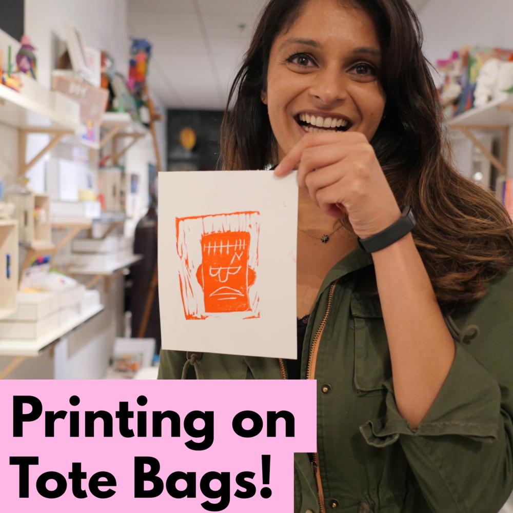 printing on tote bags