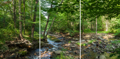 Scott Jost's panoramic shots document the different waterways of the Chesapeake Bay Watershed