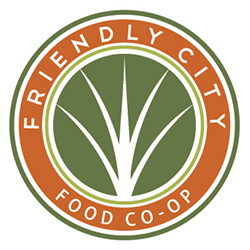 Sponsored by the Friendly City Food Co-Op