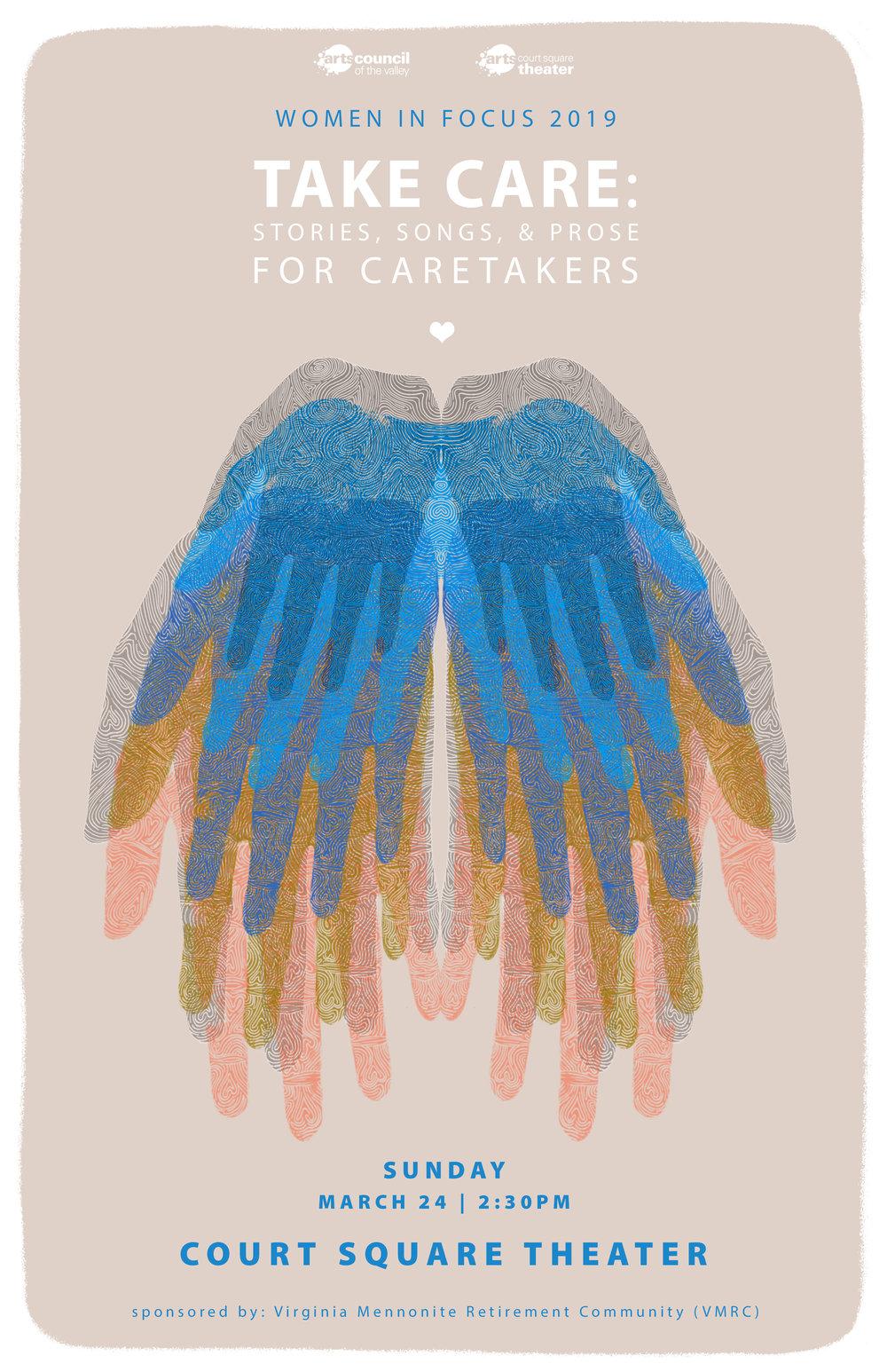 Poster artwork by Lynda Bostrom