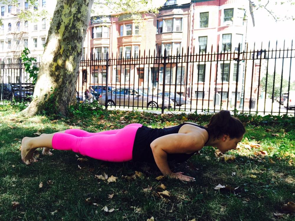 New York Yoga Bakasana
