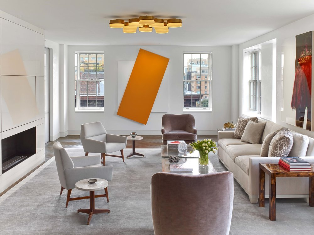 West Village Pied-a-Terre Living Room