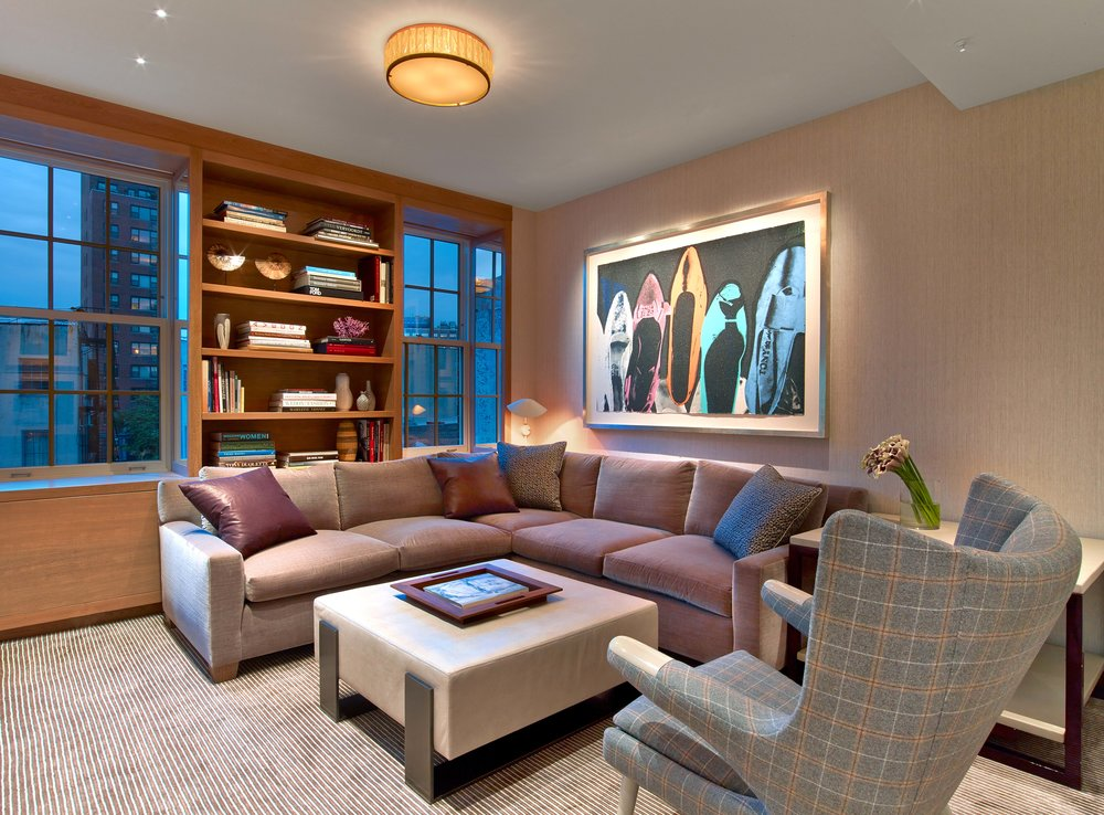 West Village Pied-a-Terre Media Room