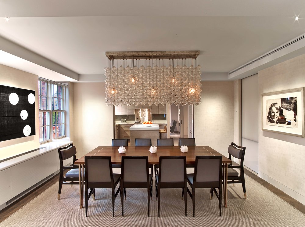 West Village Pied A Terre Dining Room
