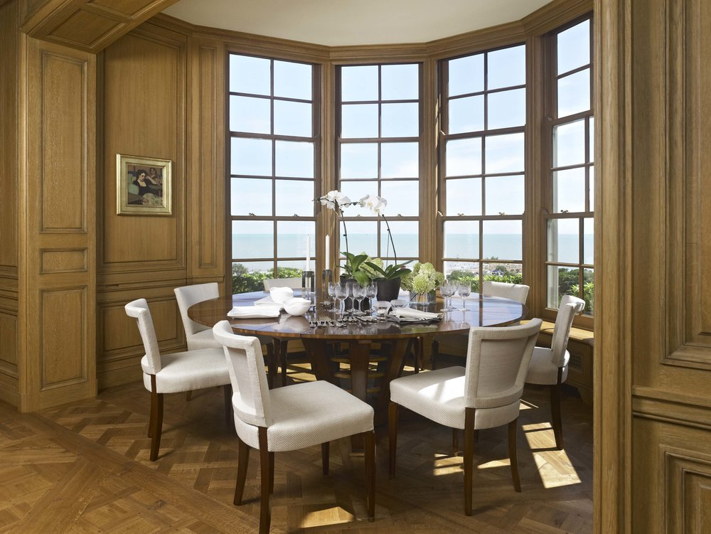 Lakeshore Drive Apartment Dining Room