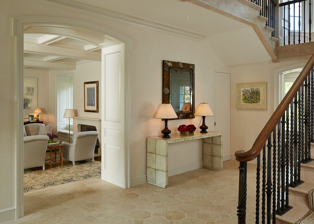 Winnetka Home Entry Hall