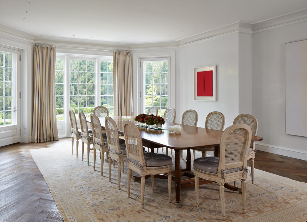 Winnetka Home Dining Room