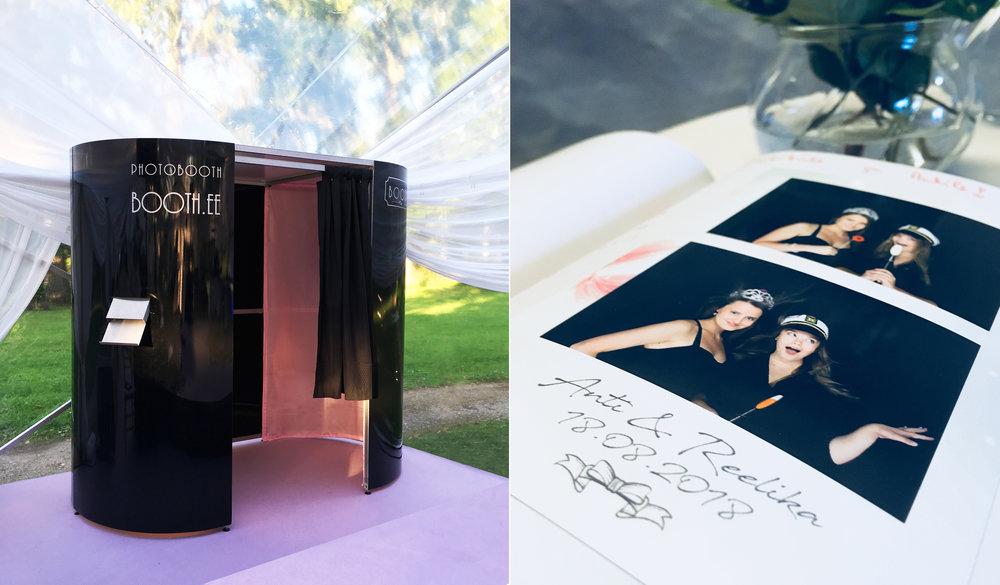 Photoboothis tehtud fotod jäävad mälestuseks Sinu üritusel viibinud külalistele ja muidugi Sulle endale. Pidu tuleb, pidu läheb, kuid peol tehtud pilt jääb aastateks.