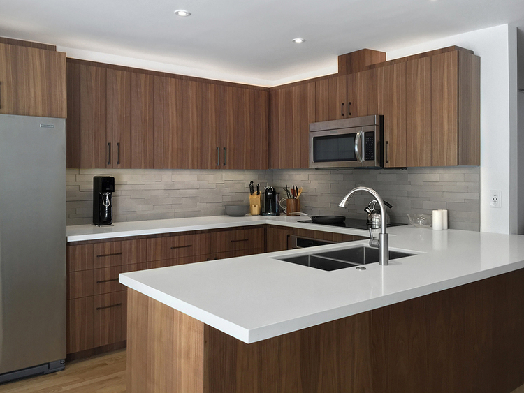 walnut kitchen — matt locke