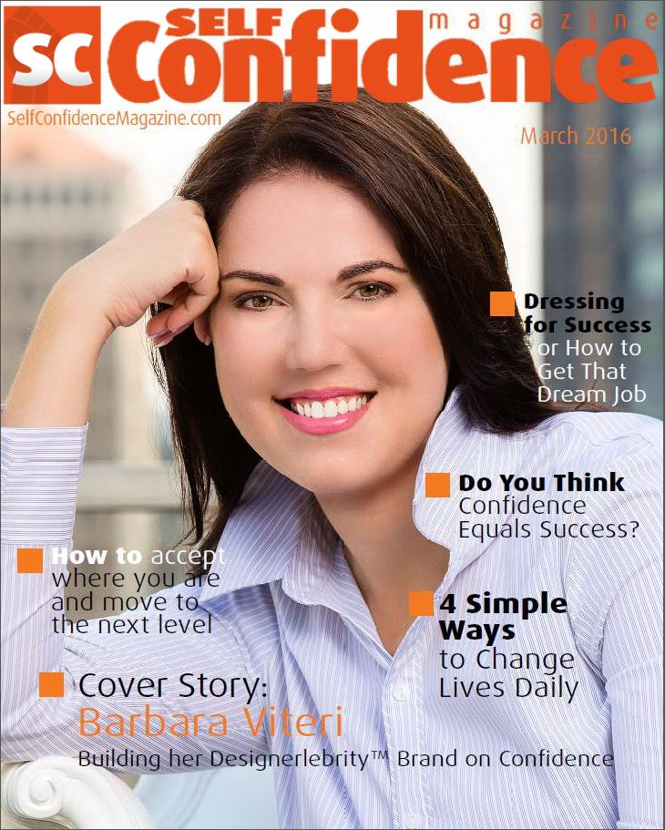 "Barbara Becomes Self Magazine's First Female Cover Story. ""Building Her Designerlebrity Brand on Confidence"""