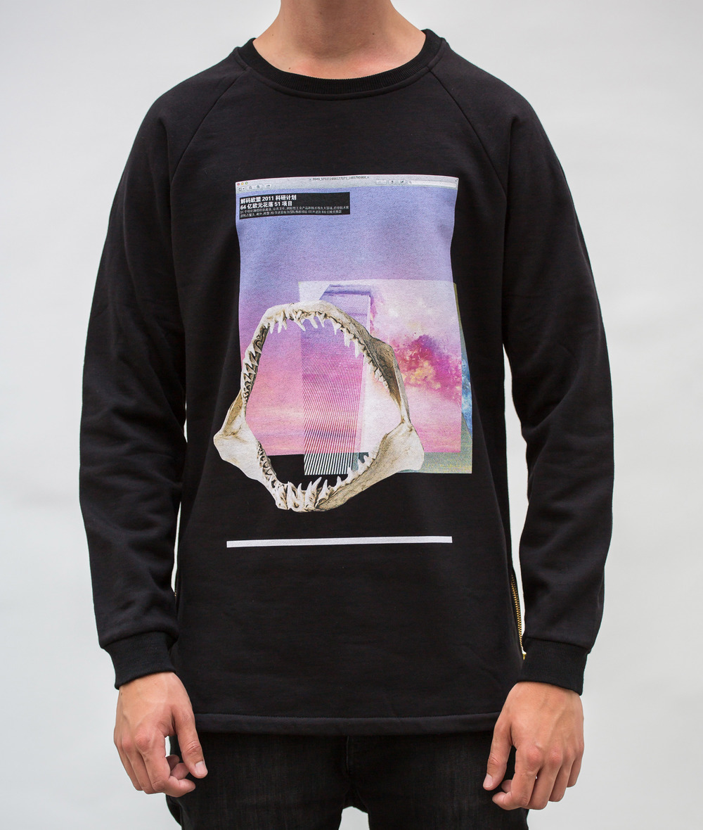 EPOQUE fashion - 9/11 and shark jaw sweater