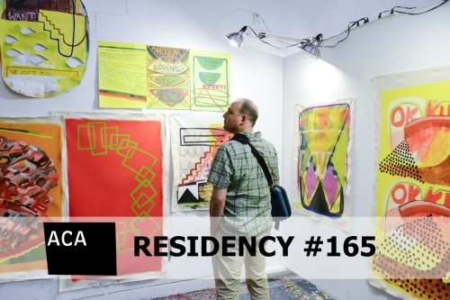 Atlantic Center for the Arts  Residency #165 with Master Artist John Gibson in New Smyrna Beach Florida, May 15th to June 3rd 2017.
