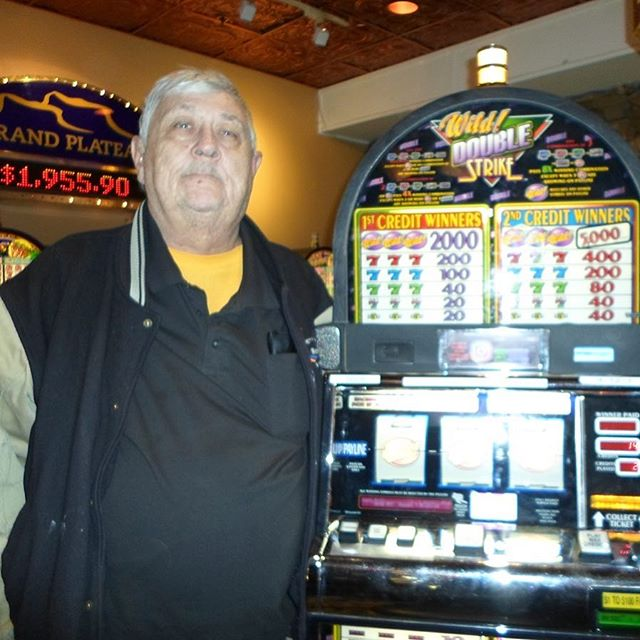Robert hit the Wild Double Strike #Jackpot for $1,200! 🎰🤑💰🃏 #CanyonCasino #BlackHawk #Colorado #Casino #Bar #Restaurant #SlotMachine #Keno #VideoPoker #BlackJack #Craps #Roulette #Beer #Wine #Liquor #HotDog #CheeseBurger #Burger #HomeWrecker #Pizza #Pork #Habanero #Bacon #Chili #Cowboy #Bronco #SuperSeries #Konami #Synkros