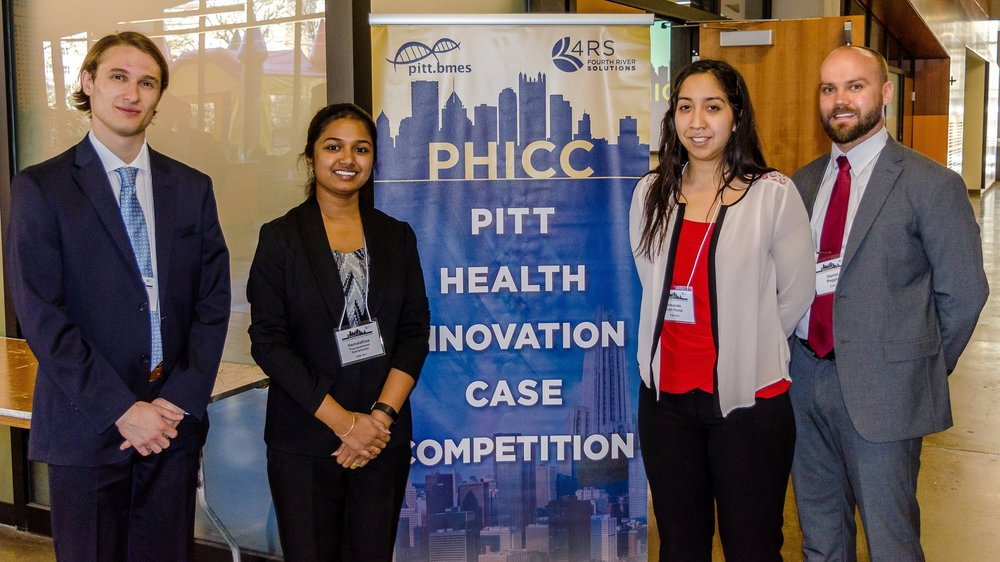 Finalist Team ETIM 2017 poses proudly in front of the PHICC banner.