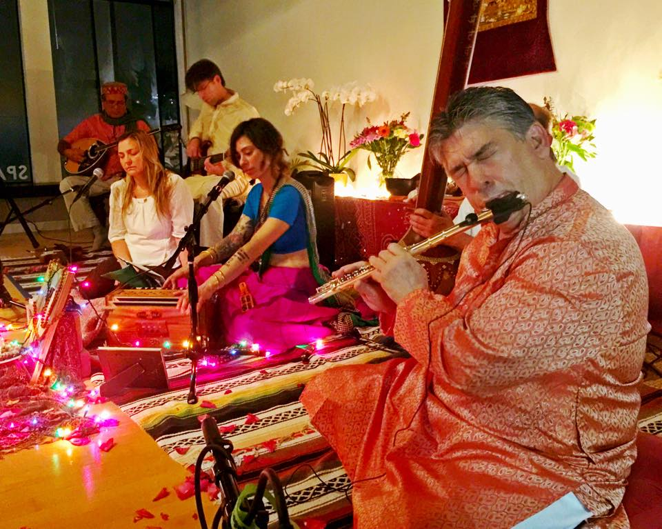 Upcoming Kirtans -  Saturday February 24th 8-9:30pm       Laughing Lotus Yoga Center 3271 16th St. SF Thursday March 9th 7:30-9pmOpen Secret BookstoreSan Rafael, CASaturday March 10th7:00pm - 8:30pmIntegral Yoga InstituteSan Francisco, CAFriday March 22nd 8-9pm THE GRINNING YOGI Seattle WA thegrinningyogiseattle.comSaturday March 23 7-8:30 Seattle WA PRIVATE RESIDENCE Saturday March 31 7-8:30pm SYMMETRY YOGA1708 Park st. #130A Alameda Ca.Saturday April 21 7-8:30pm SHANTI NAAM 2881 Castro Valley CaSaturday May 12th 7-8:30pm INTEGRAL YOGA SF