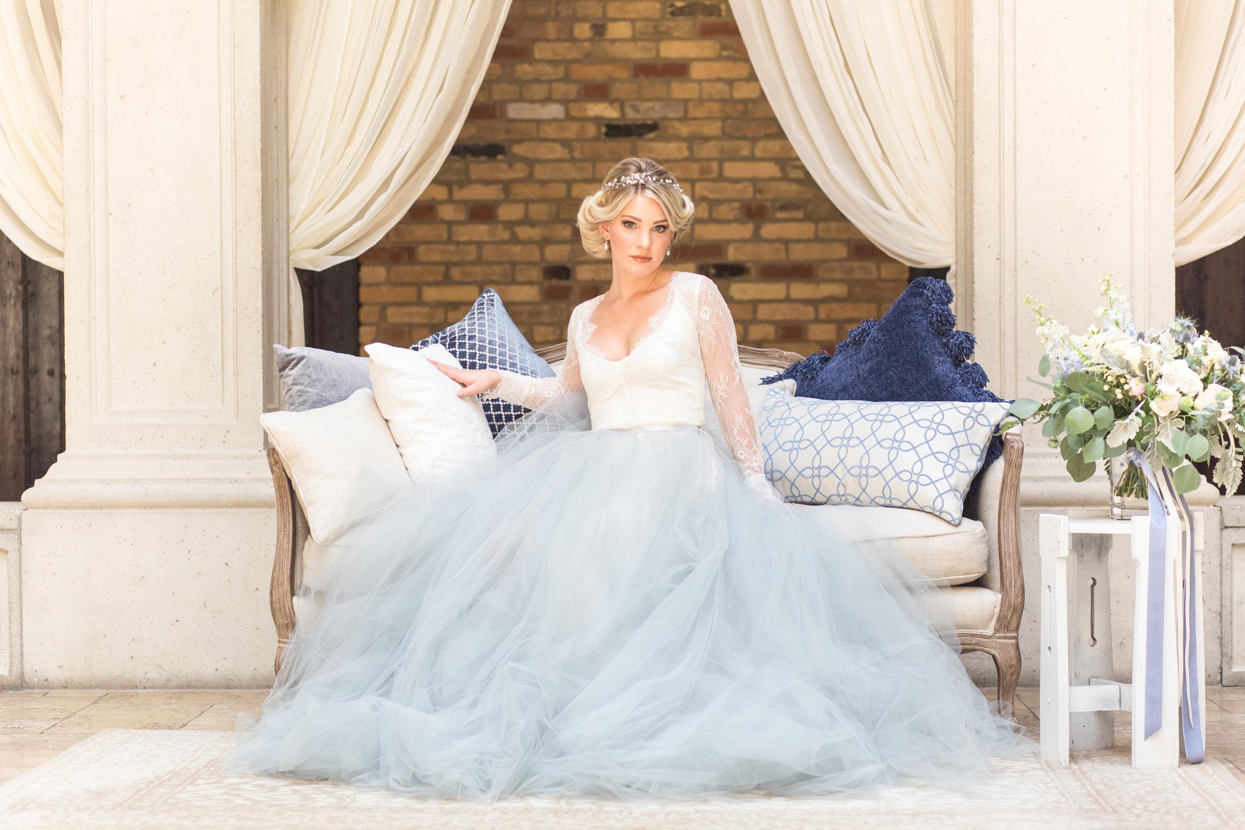 Something Blue Styled Wedding Shoot — Alexandra Del Bello Photography