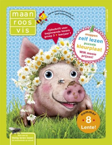 Kleurplaten Maan Roos Vis.Maan Roos Vis Moon Rose Fish Children S Magazine Eefje Kuijl