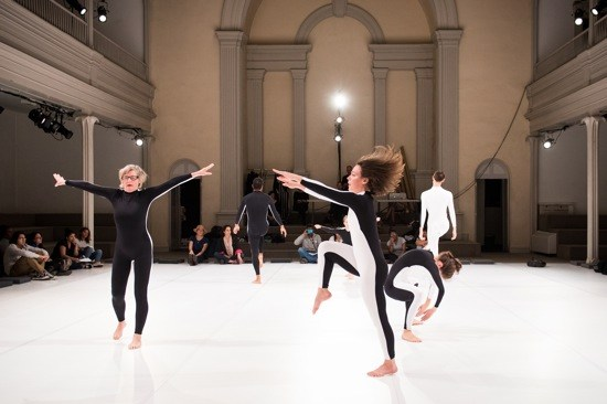 Moriah Evans, Social Dance 9-12: Encounter, Danspace, 2015