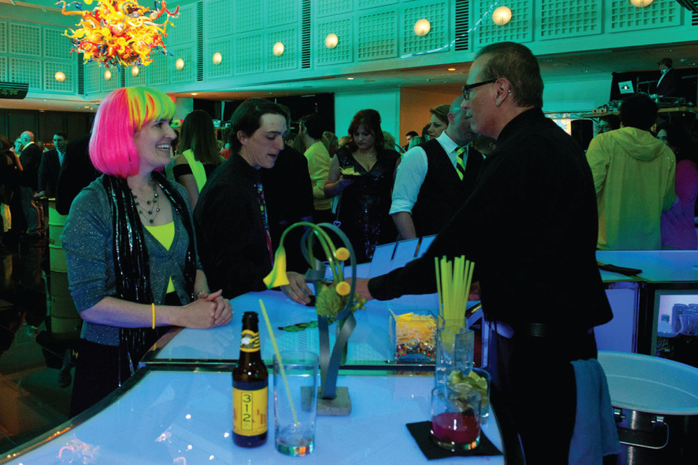 Wichita Art Museum Neon Party