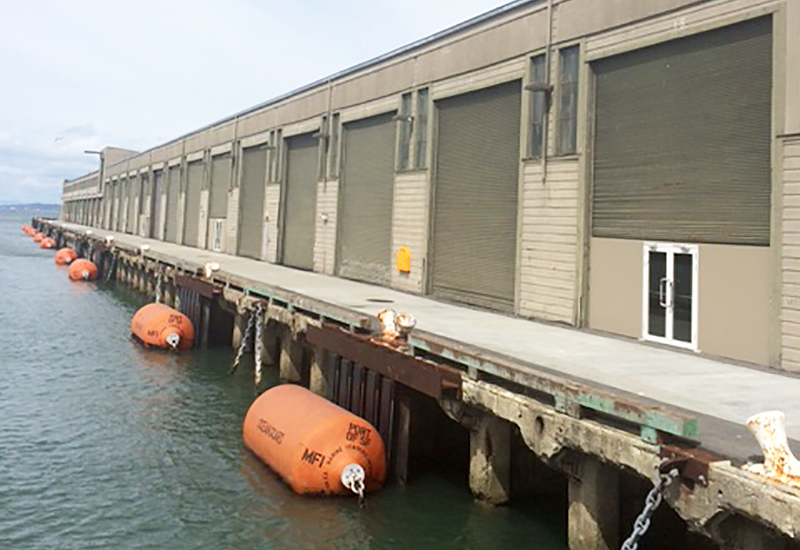 Ferry Building - Loading Dock San Francisco, CA