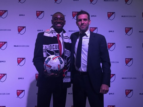 Chris Odoi-Atsem from dematha catholic  in washington, dc came to the All-American game in 2012 only to get sick and have to return home before playing.  He was selected by D.C. United in the 2017 MLS draft with the #12 pick