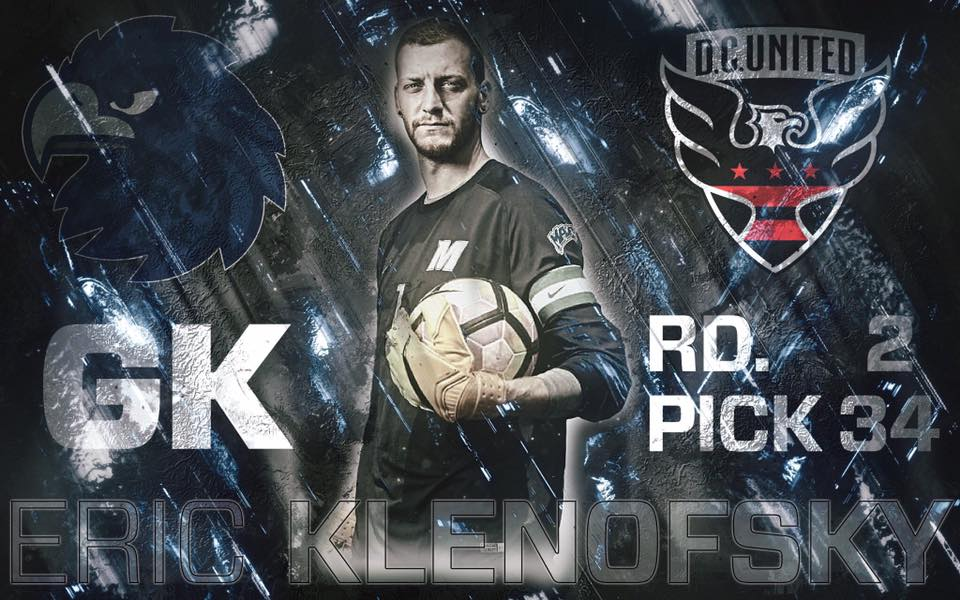Eric Klenofsky from depaul catholic in new jersey played in the 2012 All-american game.  he was selected by DC United with the #34 pick in the 2017 mls draft.