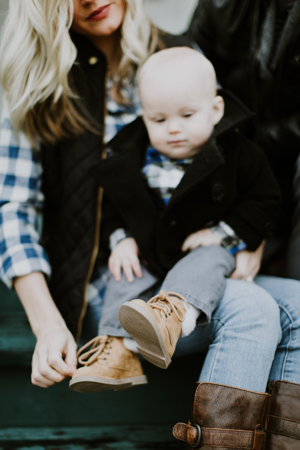 The best part of Merit's outfit? His tiny boots. Perfect for winter. And the most stylish accessory for a one year old boy. Find these shoes at: http://oldnavy.gap.com/browse/product.do?cid=1073322&vid=1&pid=425187002
