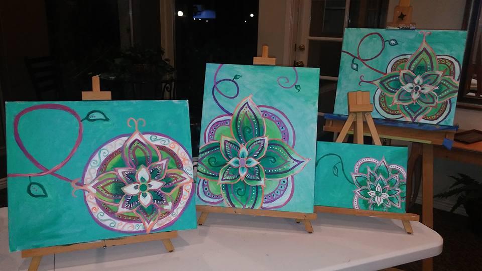 Mandala Floral Design