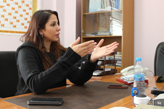 Isra Tawelbeh, Jordan's first female forensic pathologist, says it was hard to win respect from colleagues.