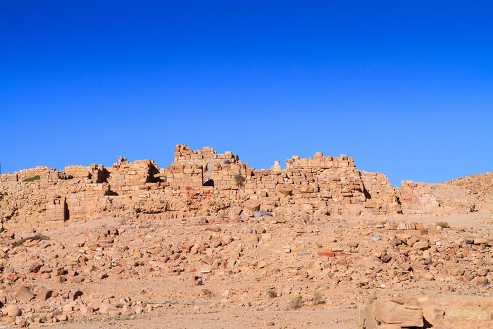 The Temple of Winged Lions in Petra dates to the second century AD.