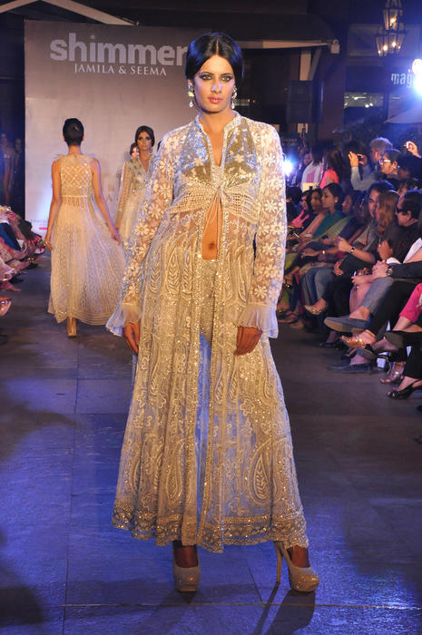 Modern Indian fusion-wear.