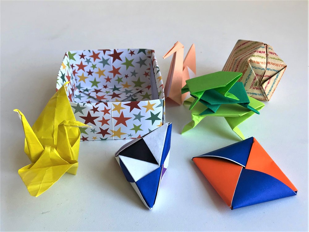 Camp Day Origami Fun Folding Basics Sticky Art Lab
