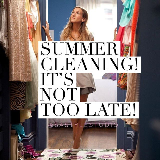 New post alert! 💕 Summer Cleaning! It's not too late! On the blog now! Link in bio. Like, comment , share and subscribe!! #stylestudioblog #sastylestudio #fashion #wardrobe #orginization #fashionblog
